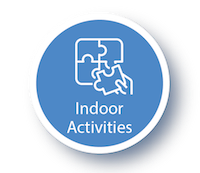 Girlguiding Indoor Activities Icon