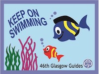 Keep on Swimming Badge