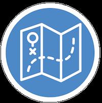 Girlguiding Orienteering Icon
