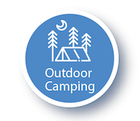 Girlguiding Outdoor Camping Icon