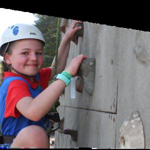 Rock Climbing Activities Camping Girlguiding Nottinghamshire