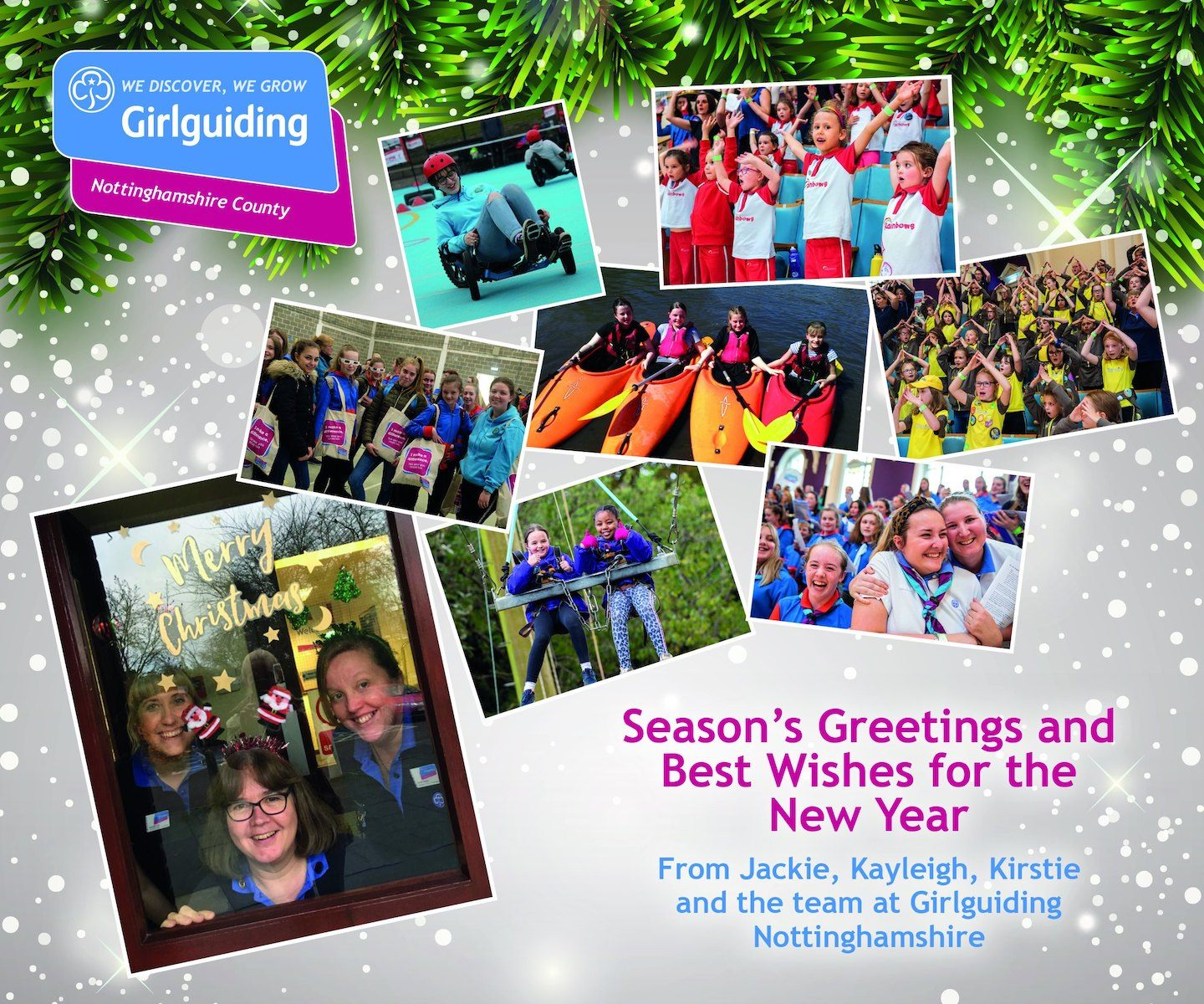 thank you from girl guiding nottinghamshire